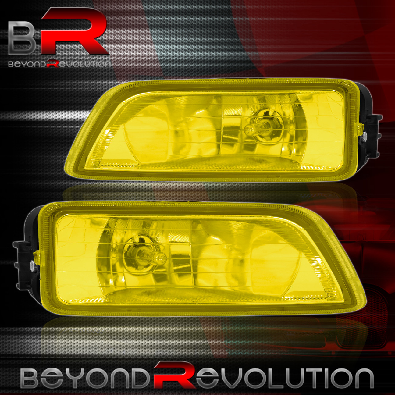Yellow Fog Lights + Switch + Harness Set For 2004 2005