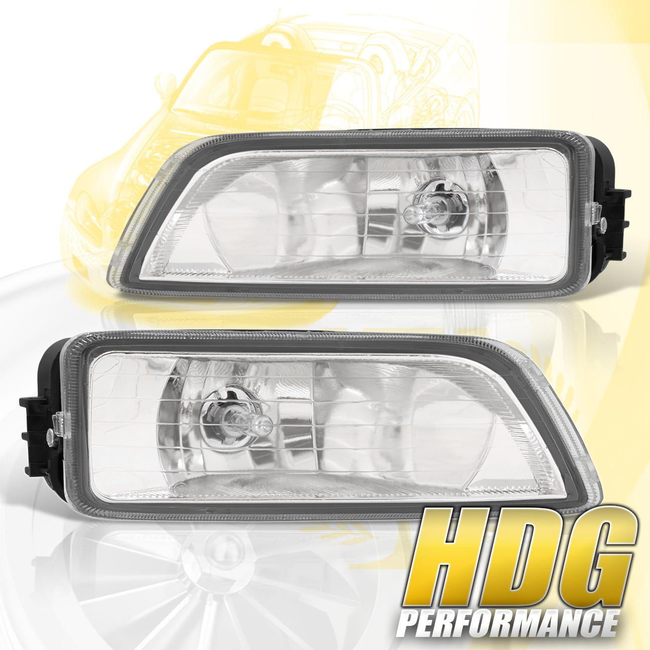 For 2004-2008 Acura TL / 2003-2007 Honda Accord Clear Fog Lights w/ Wiring  Kit