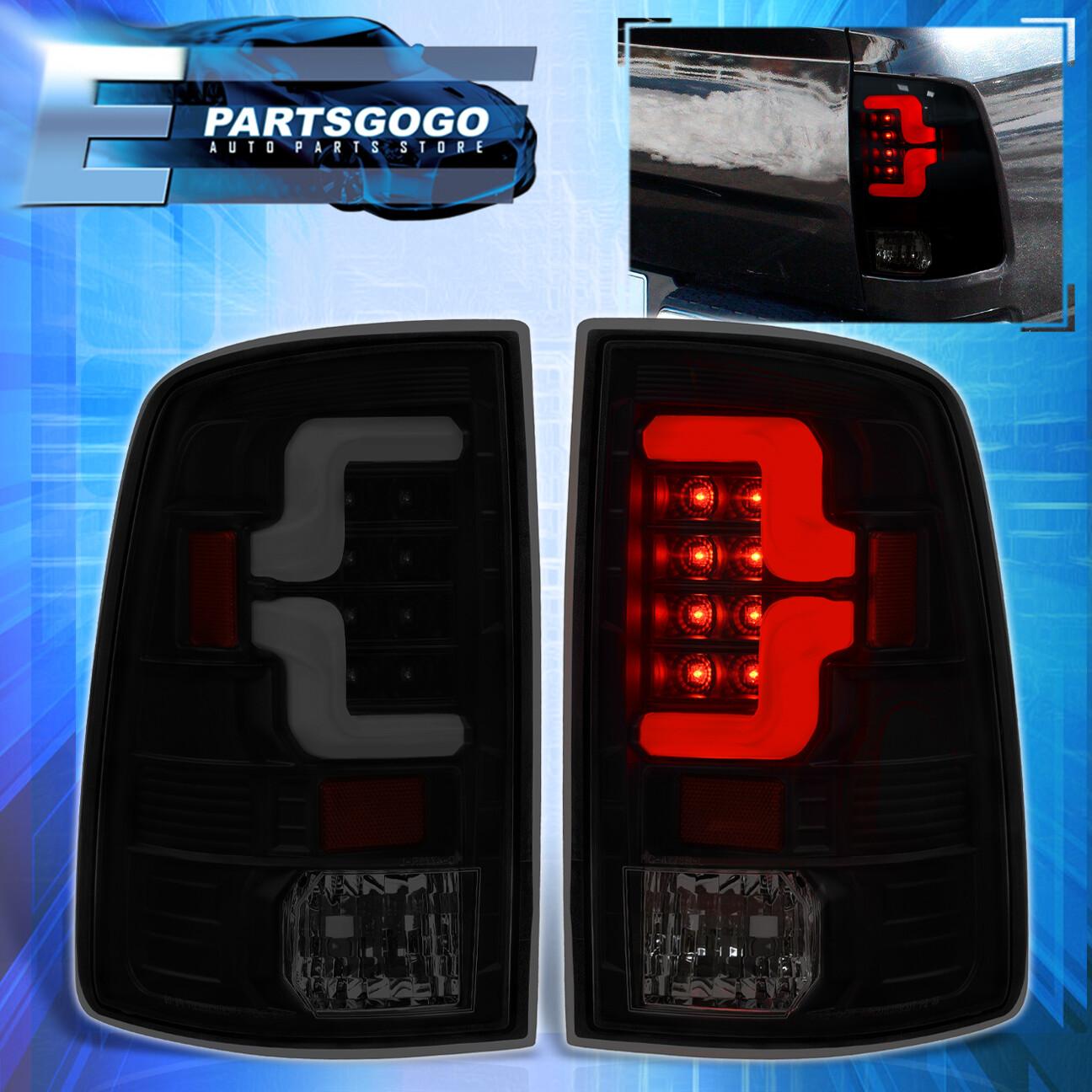 2009-2018 Dodge Ram 1500//2010-2018 Ram 2500//3500 Smoke LED Brake Tail Lights