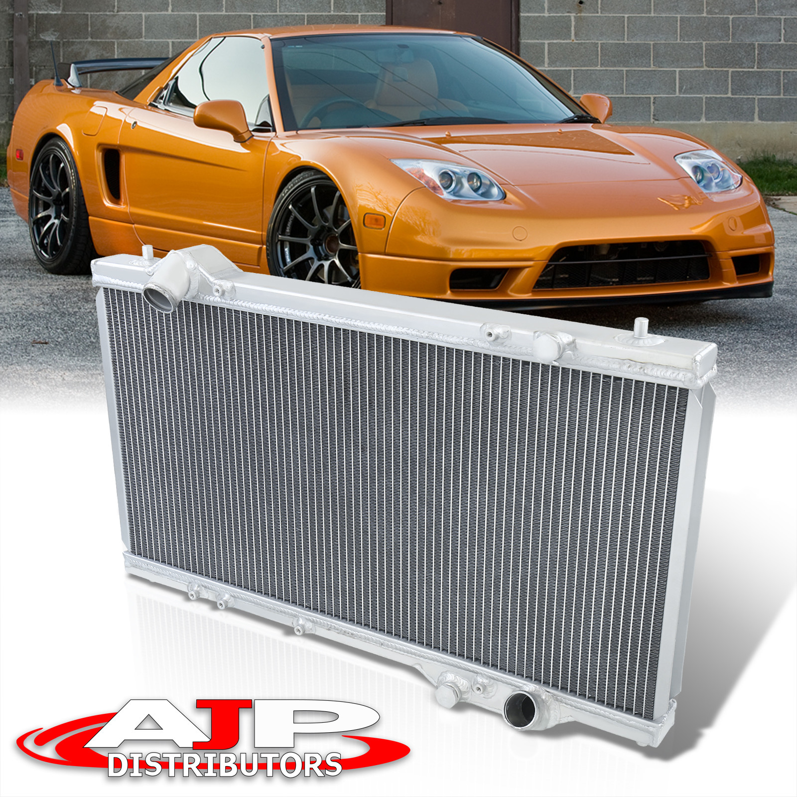 Bolt-On Racing Aluminum Cooling Radiator For 1990-2005