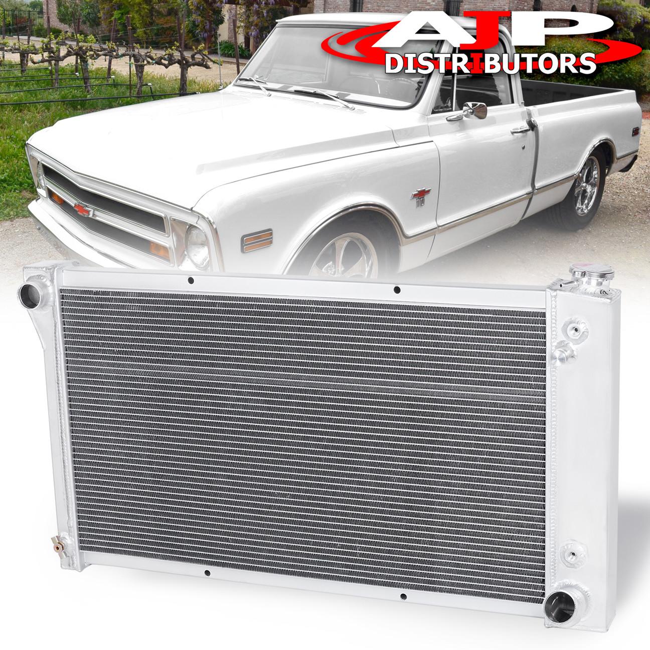 3 ROWS ALUMINUM RADIATOR FIT Base Sport Utility 4-Door V8 S10 Blazer TRI-CORE