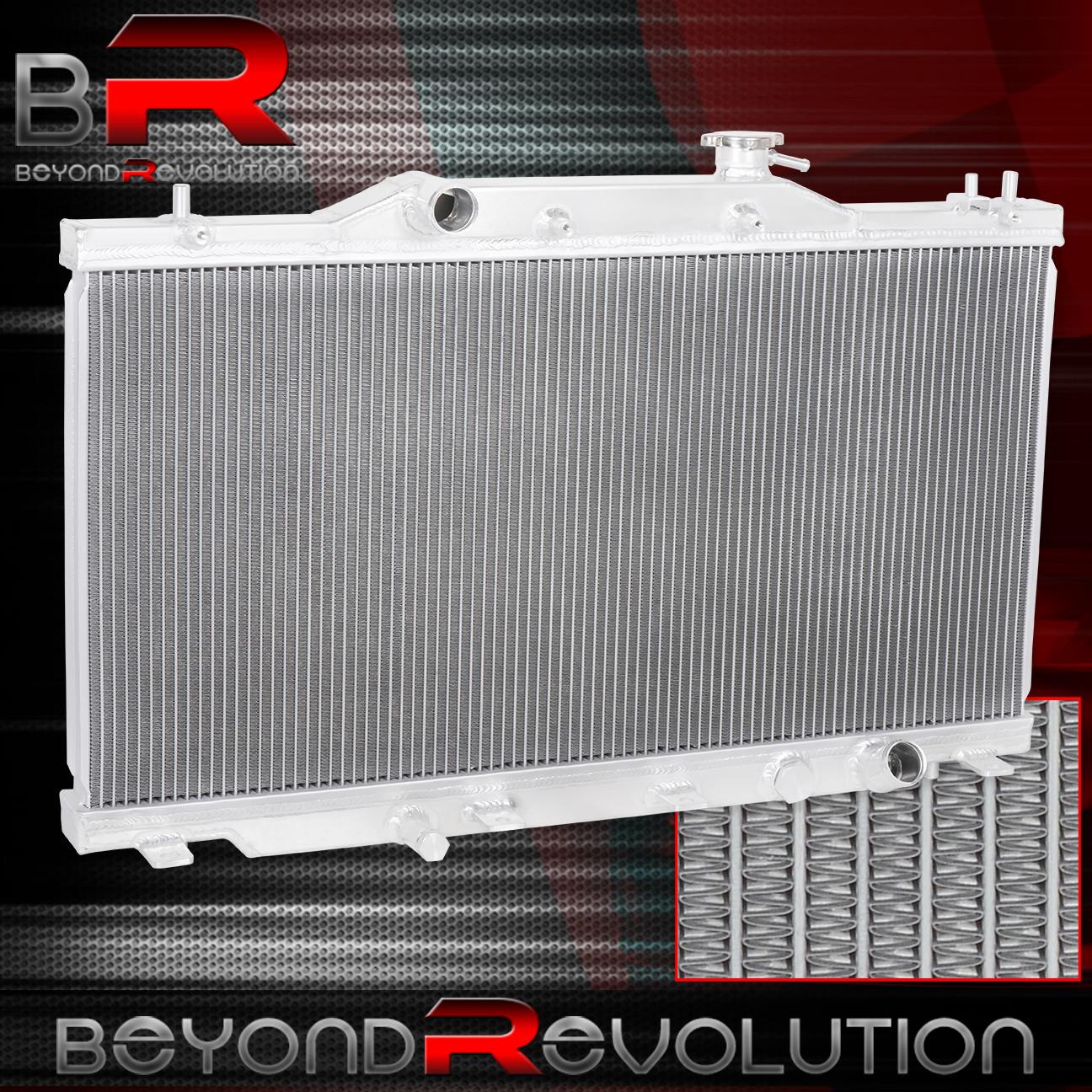For 2002-2006 Acura Rsx Aluminum 2-Row / Dual Core