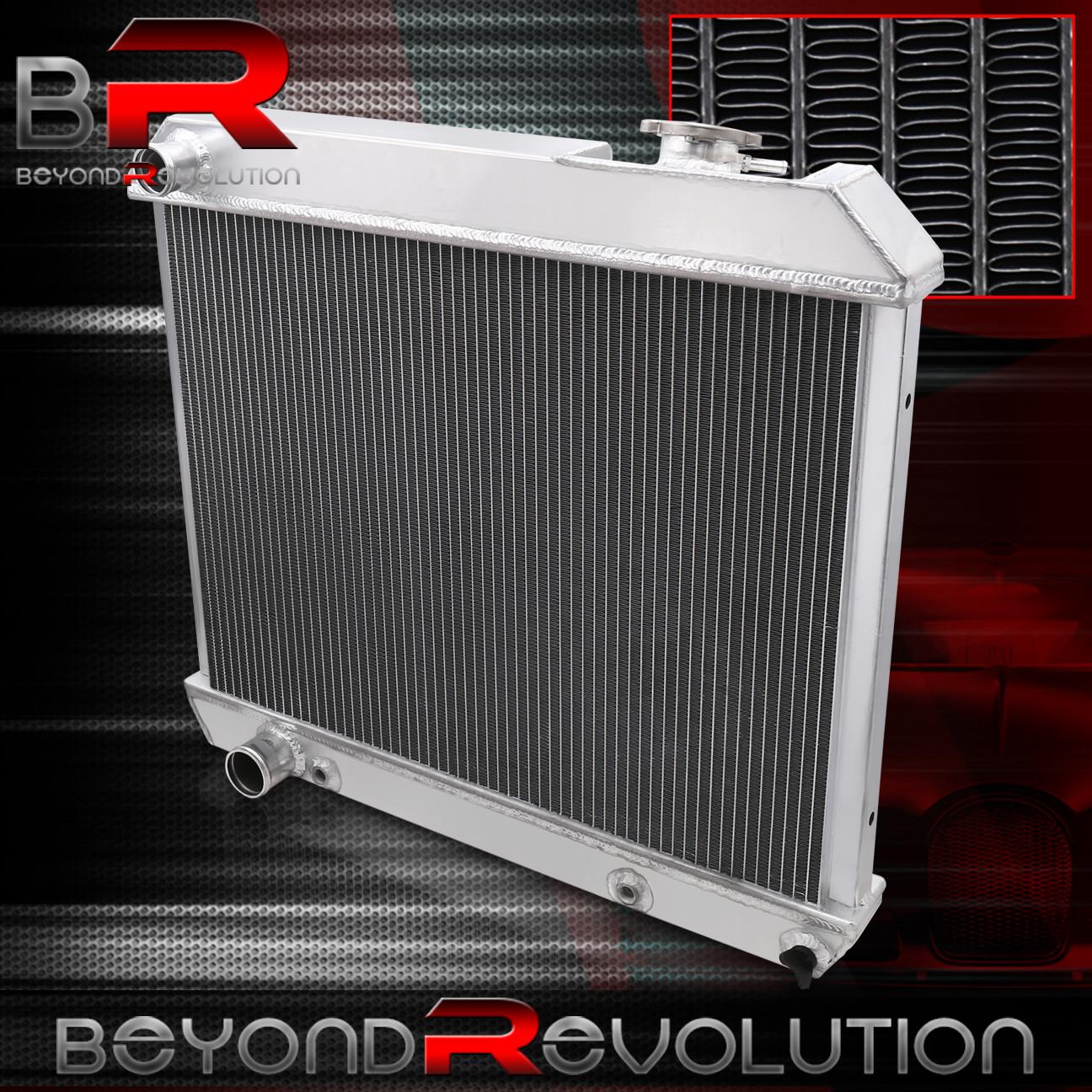 3 Row Aluminum Radiator for Cadillac Deville 60-65 1960 1961 1962 1963 1964 1965