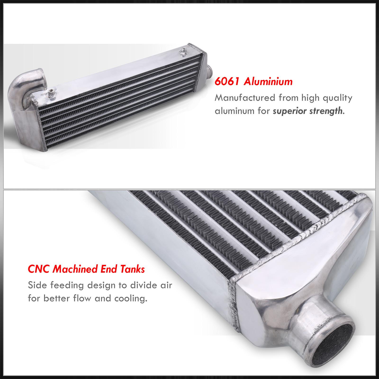 Performance Turbo Front Mount Aluminum Intercooler For