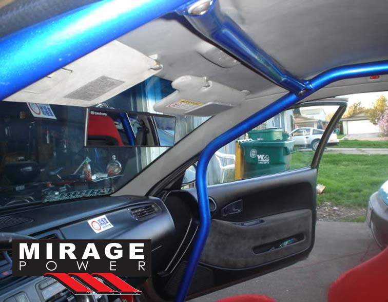 6 Point Blue Racing Roll Cage Safety Bars For 1992 1995