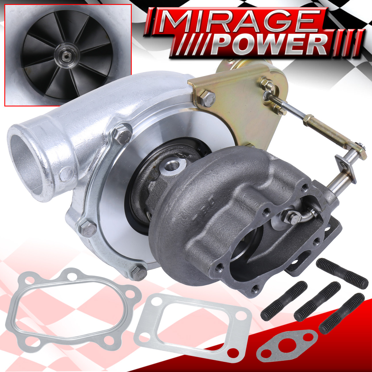 Gt3576 Universal Performance Turbo Charger Journal Bearing: GT3071R Stage 3 Journal Bearing Turbo Charger Upgrade