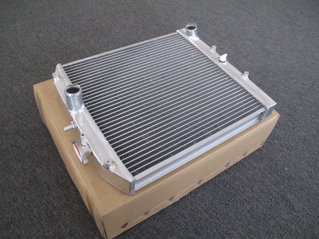 Dual Core Aluminum Radiator For Honda Civic Del Sol 92-00 B16 B18 Manual  Trans