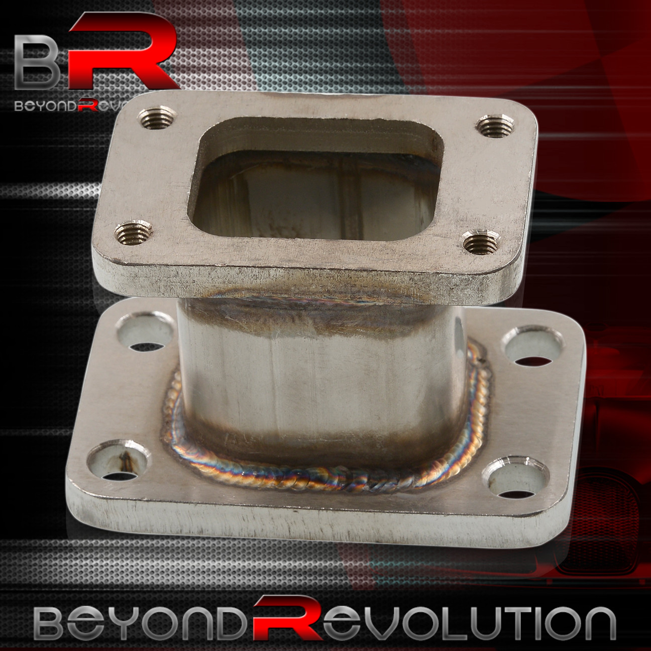 T25//T28 TO T3 TURBO CHARGER SWAP MANIFOLD FLANGE ADAPTER CONVERTER T3 TO T25