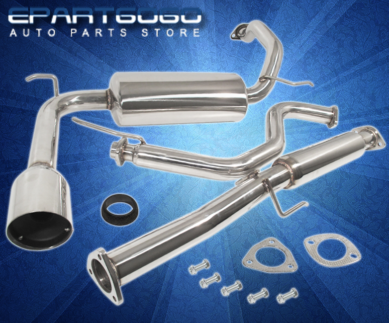 Acura Integra Rs Ls Da Stainless Steel Catback Exhaust - 1990 acura integra muffler