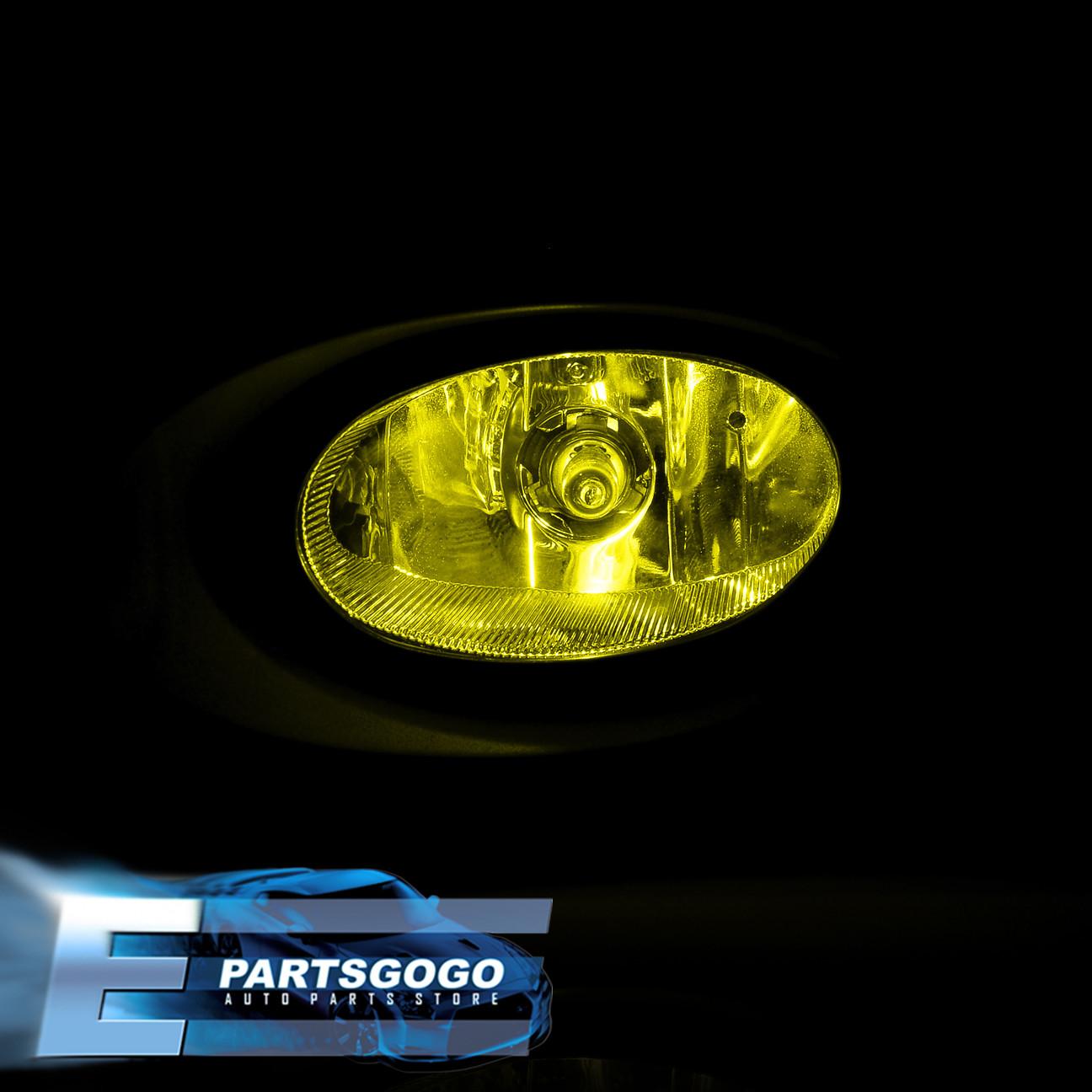02-04 Acura Rsx Type-S Base Dc5 Jdm Yellow Lens Fog Light