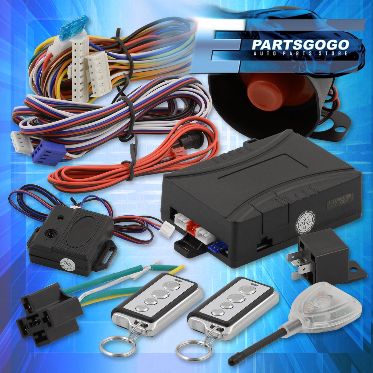 Jdm Remote Starter Engine Start Car Alarm System With