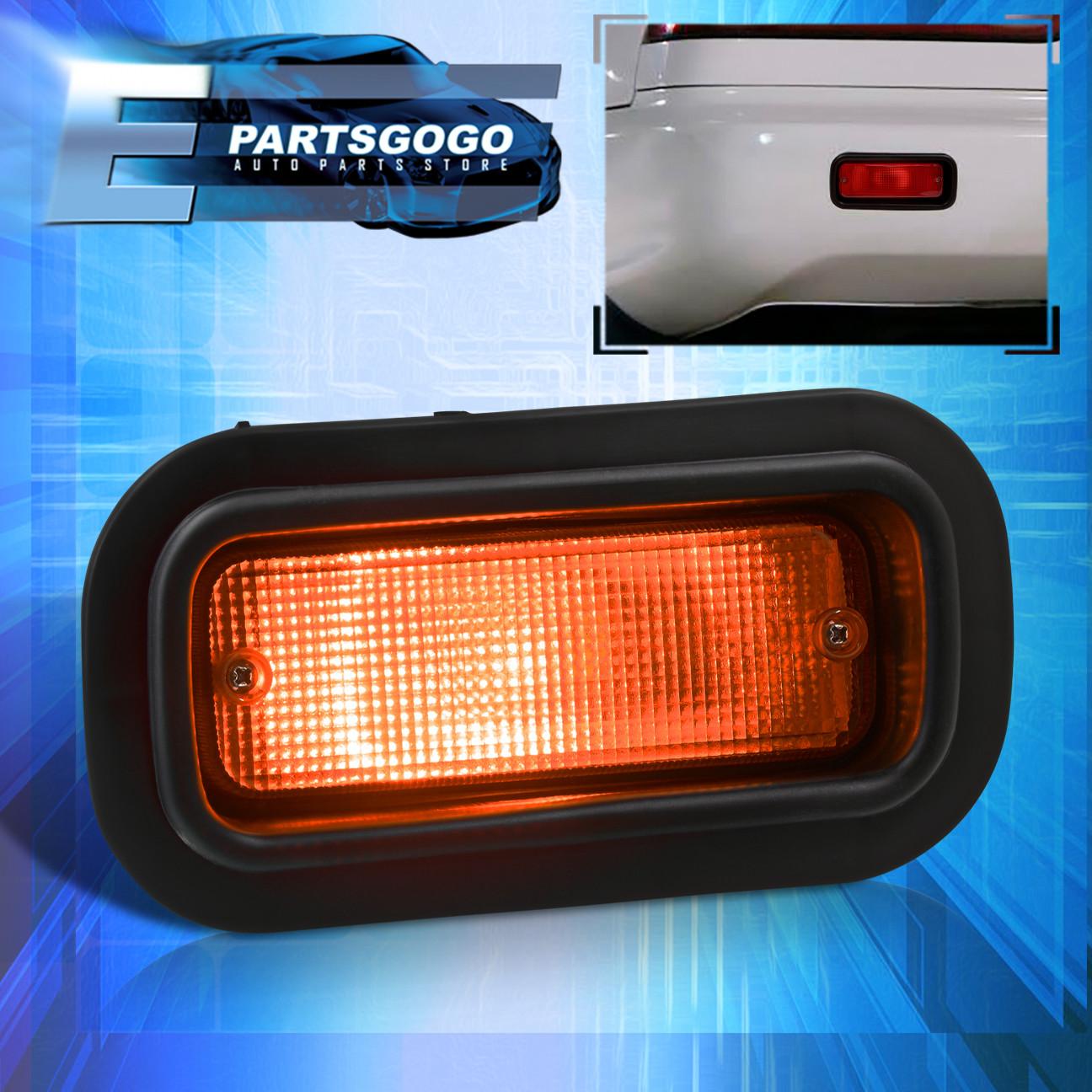 [TBQL_4184]  For Honda Prelude Civic Accord Jdm Edm Custom Red Lens Rear Bumper Fog Light  | eBay | 1990 Honda Prelude Tail Light Wiring |  | eBay