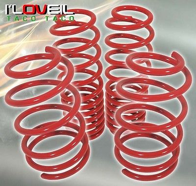 Lexus IS300 Altezza Suspension Racing Coil Drop Lower Lowering Sport Spring Kit Red