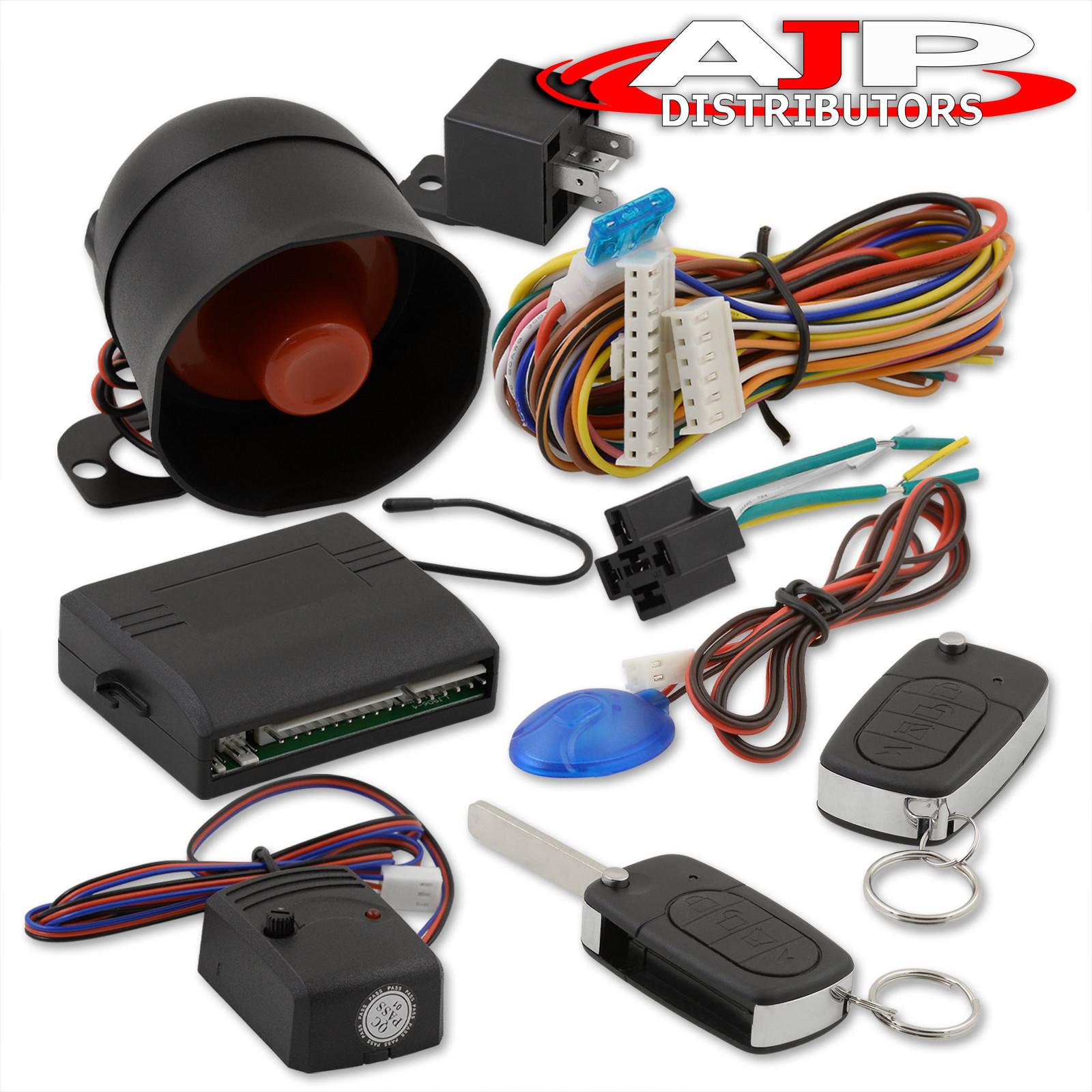 Jdm Car Alarm Security System Remote Transmitters With Flip Keys For Central Locking Wiring Diagram All Honda