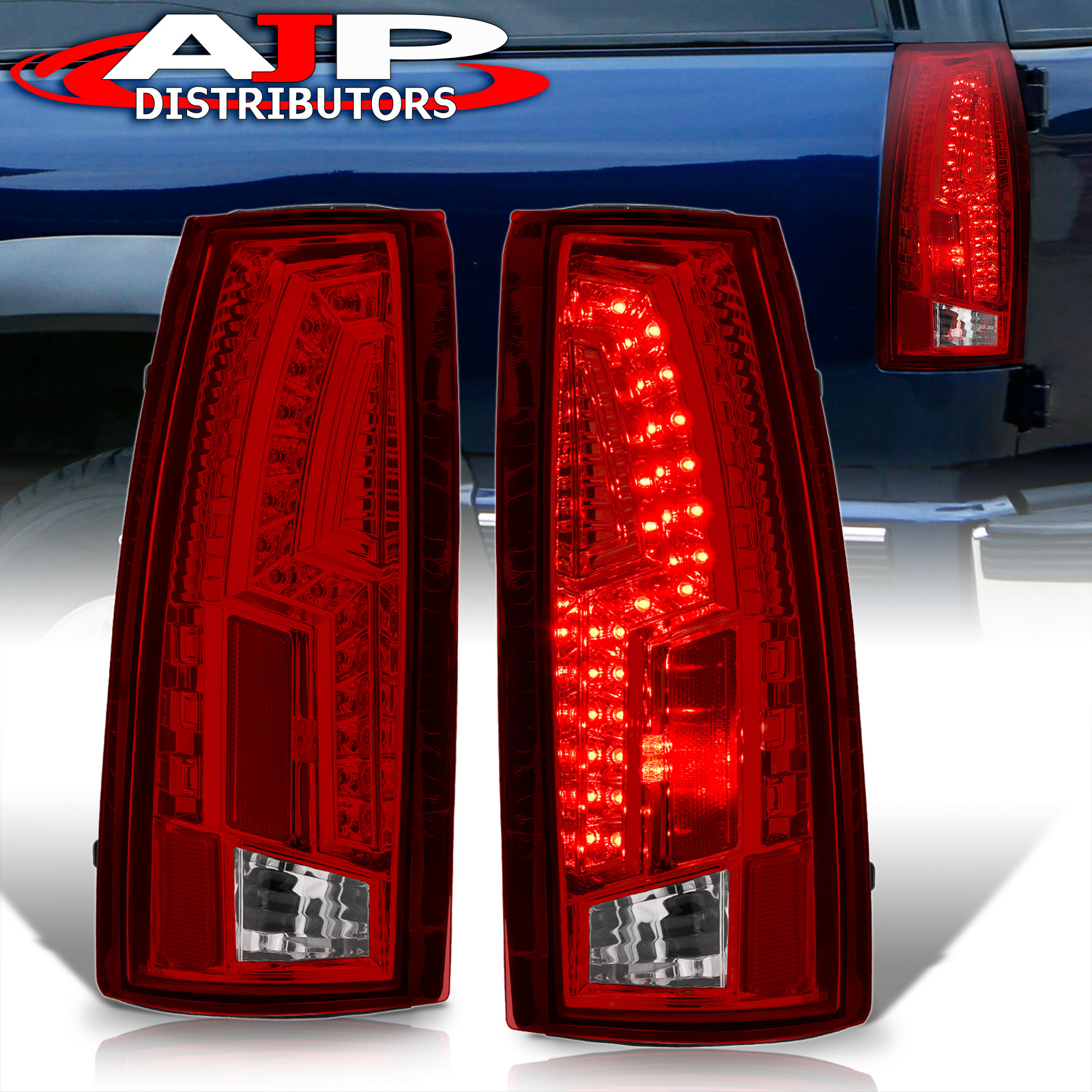 88 98 chevy c k truck direct replacement led brake stop tail lights. Black Bedroom Furniture Sets. Home Design Ideas