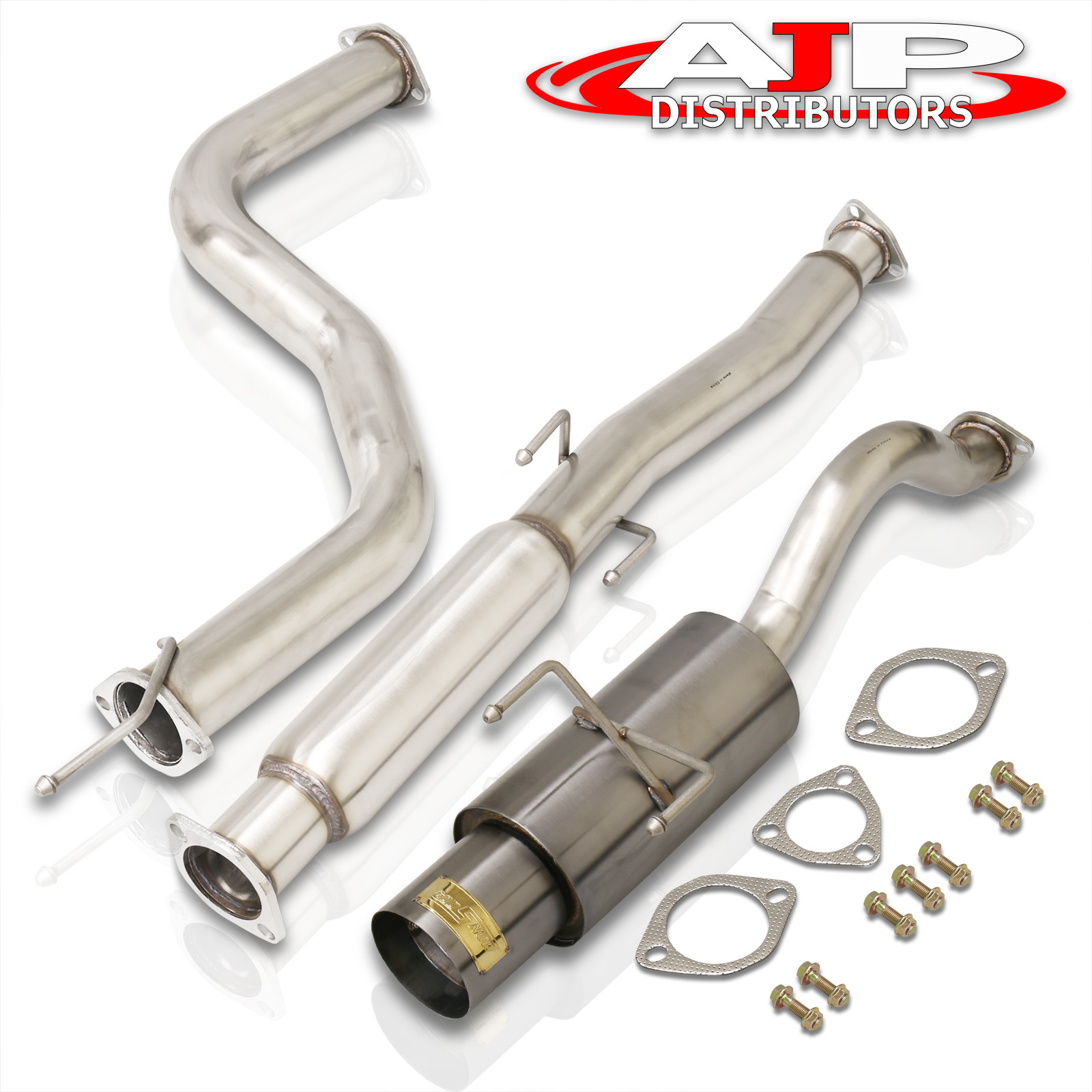 96 97 9800 Honda Civic Hatch Back 3dr Ek 3 N1 Gunmetal Catback Exhaust System Ebay: 98 Honda Civic Dx Exhaust System At Woreks.co