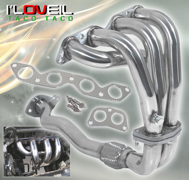 For 1993-1997 Corolla 4Cyl 1 6L Stainless Steel Performance