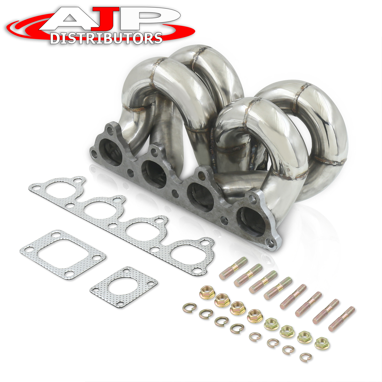 Honda D-series Civic T3 Stainless Turbo Manifold Header SS D SERIES POLISHED