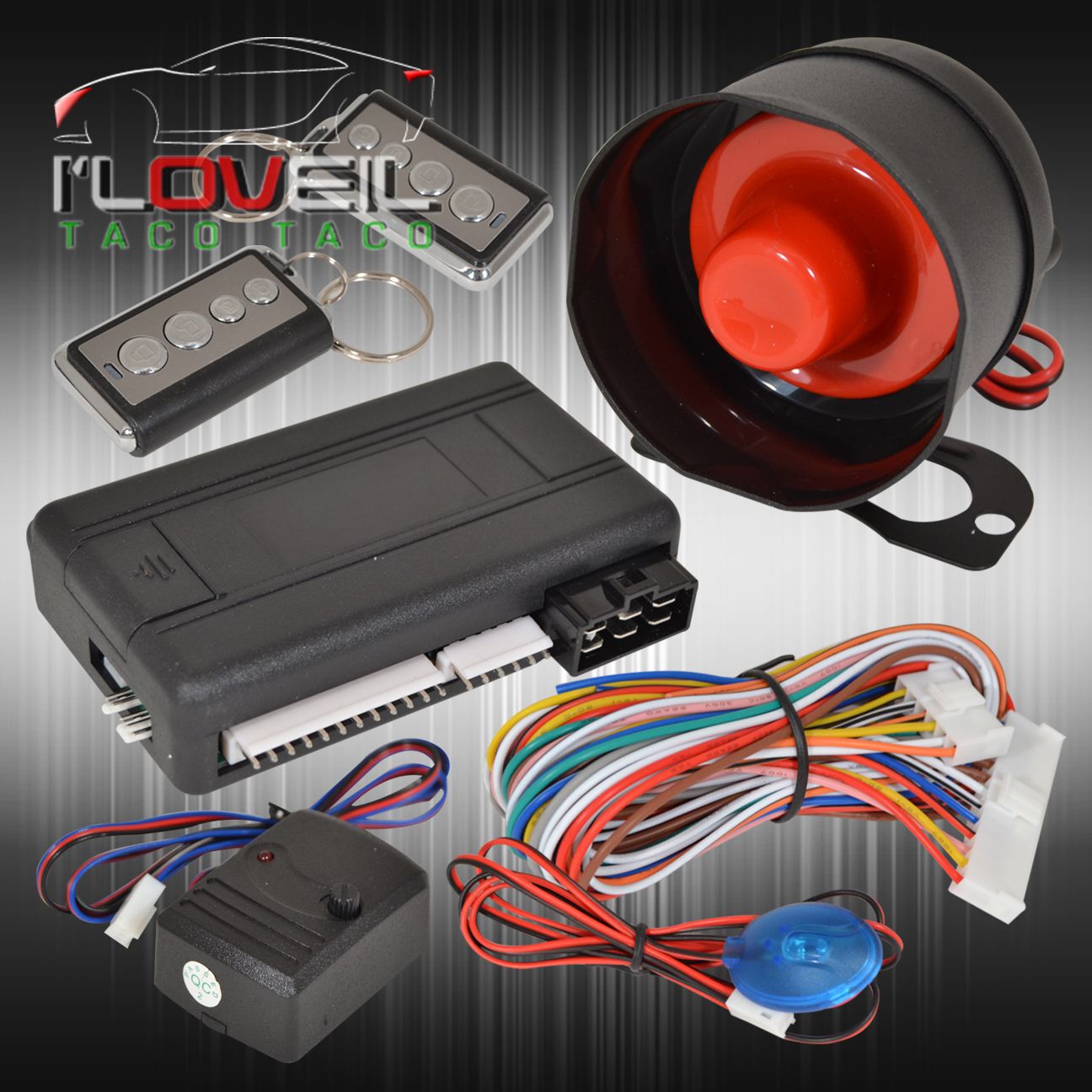 Jdm Remote Engine Start Car Alarm Security System W   Wiring And For Nissan