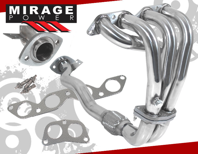 19931997 Toyota Corolla 16l Stainless Steel Exhaust Header Dx Base 94 95 96 Ebay: 1990 Toyota Corolla Exhaust System At Woreks.co