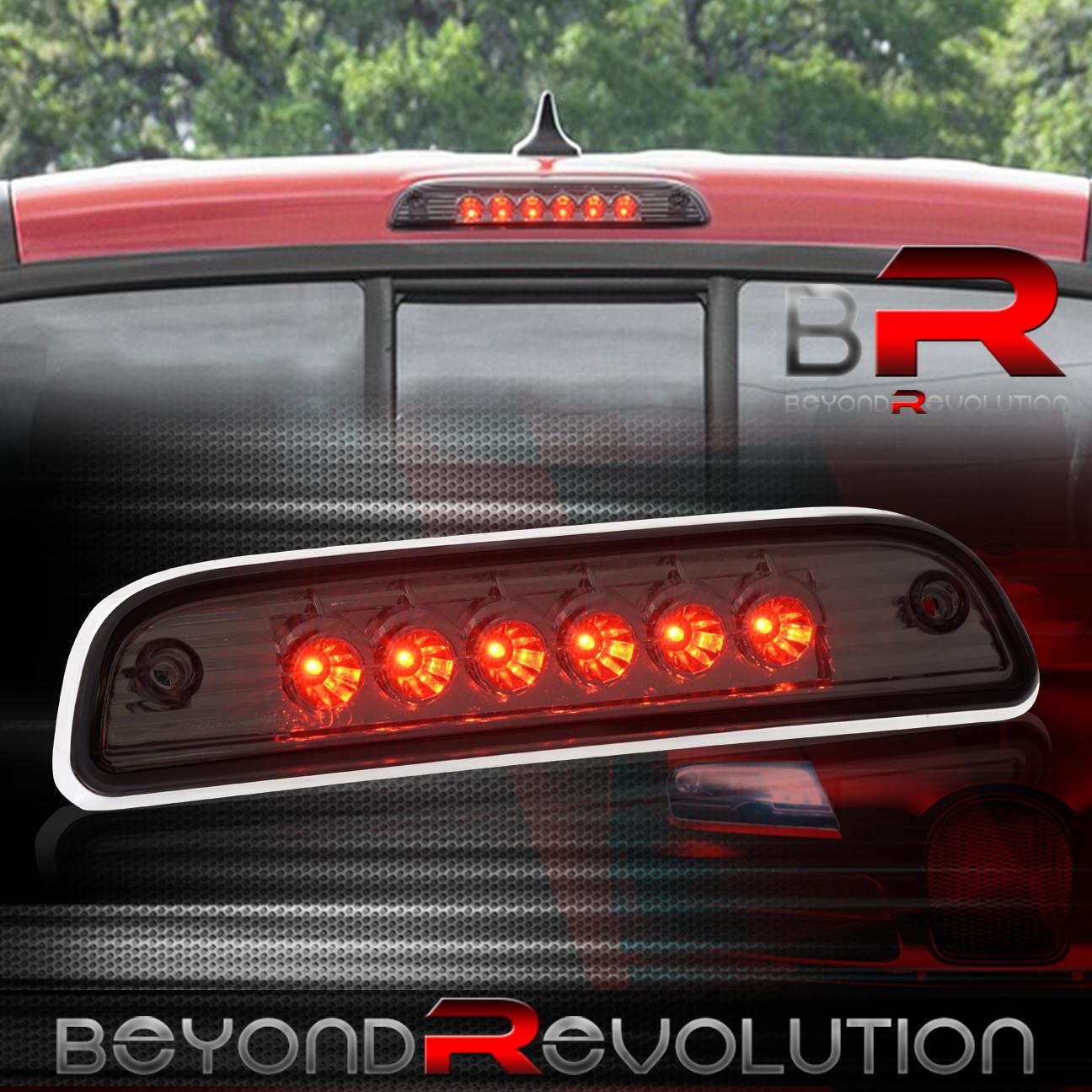 For 95 16 Toyota Tacoma Smoke Smoked LED Cargo Lamp 3rd Third Brake Light