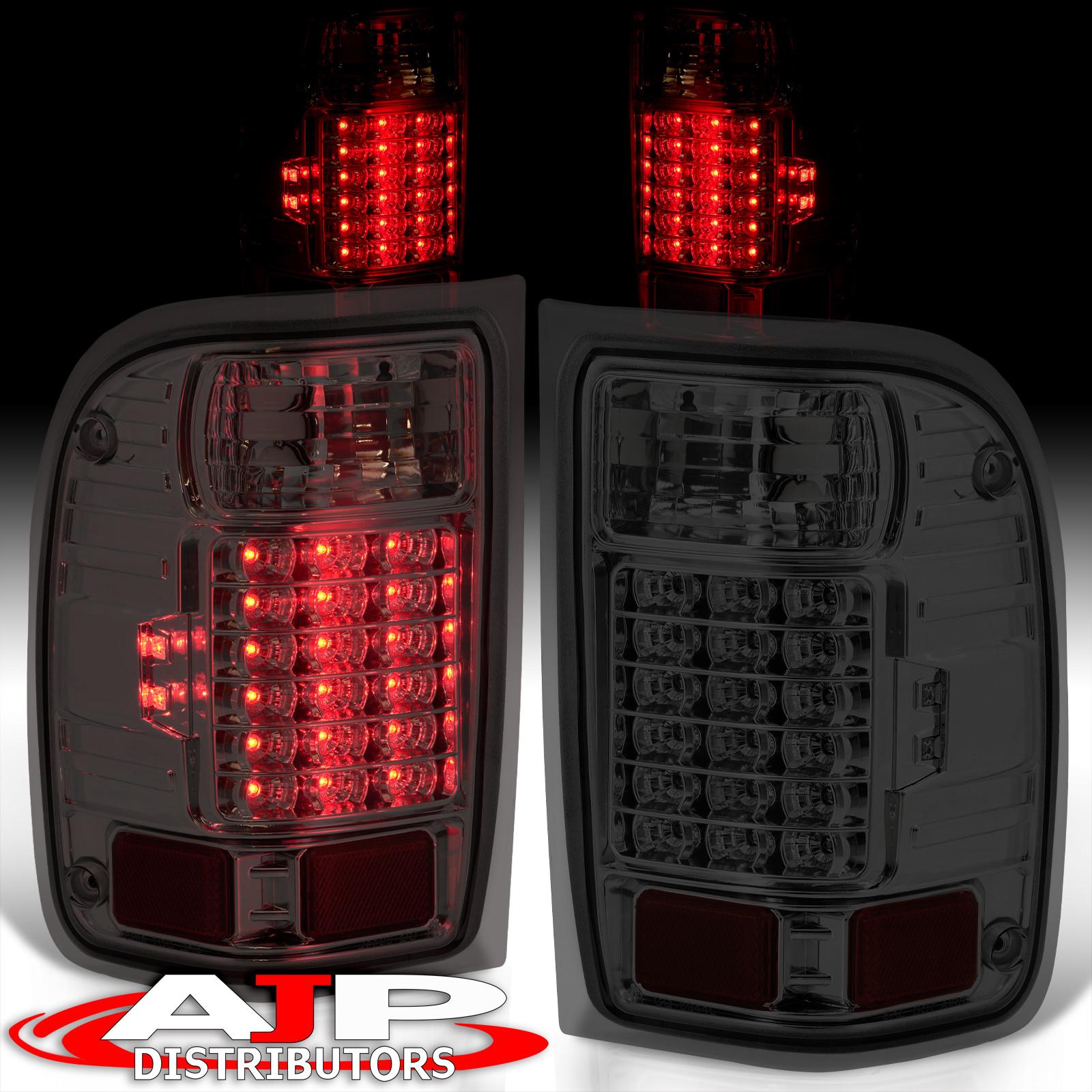 smoke len replacement led tail lights stop brake lamps for 2001 2011 ford ranger ebay ebay