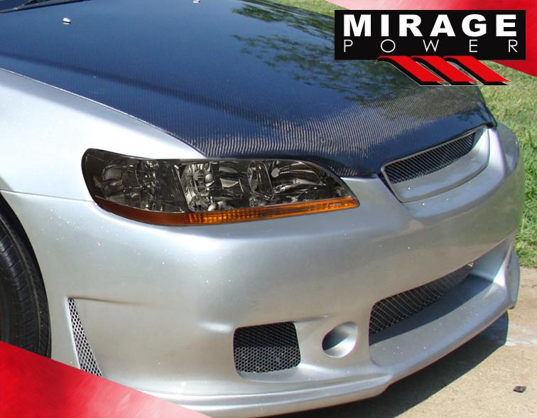 Aftermarket Car Warranty >> 1998-2002 Honda ACcord Dx Ex Lx V6 Jdm Smoke Headlights w/Amber Reflector Pair | eBay