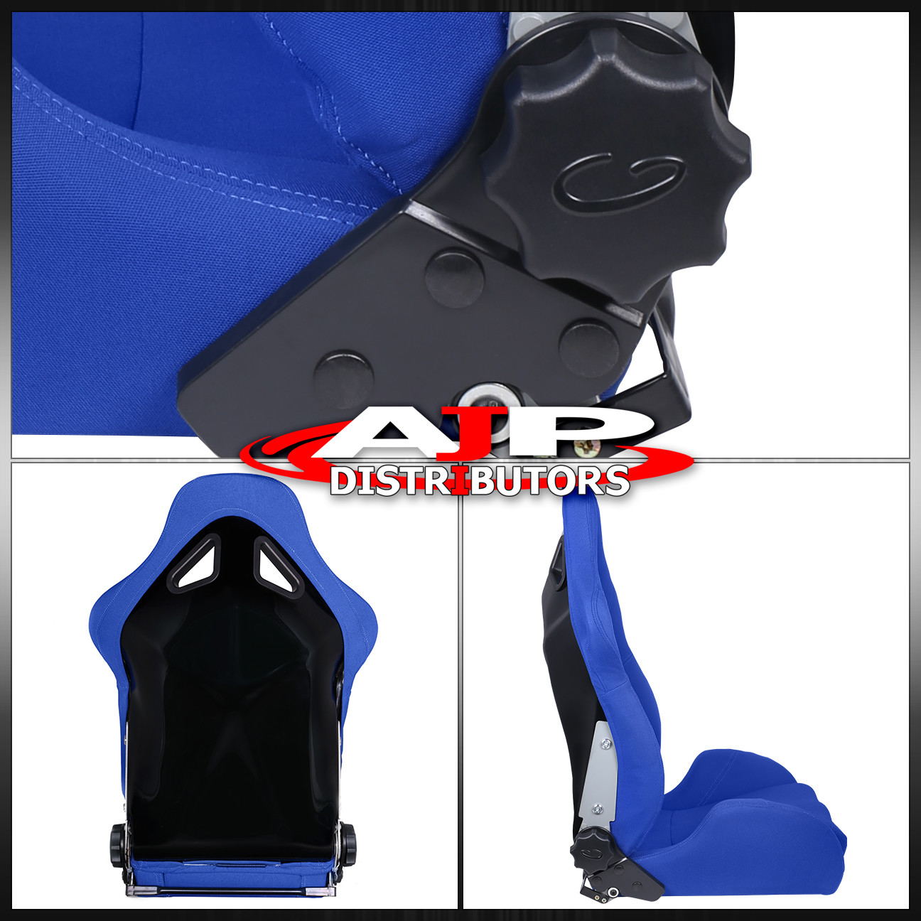 For Honda Acura Jdm Racing Sport Reclinable Bucket Seat