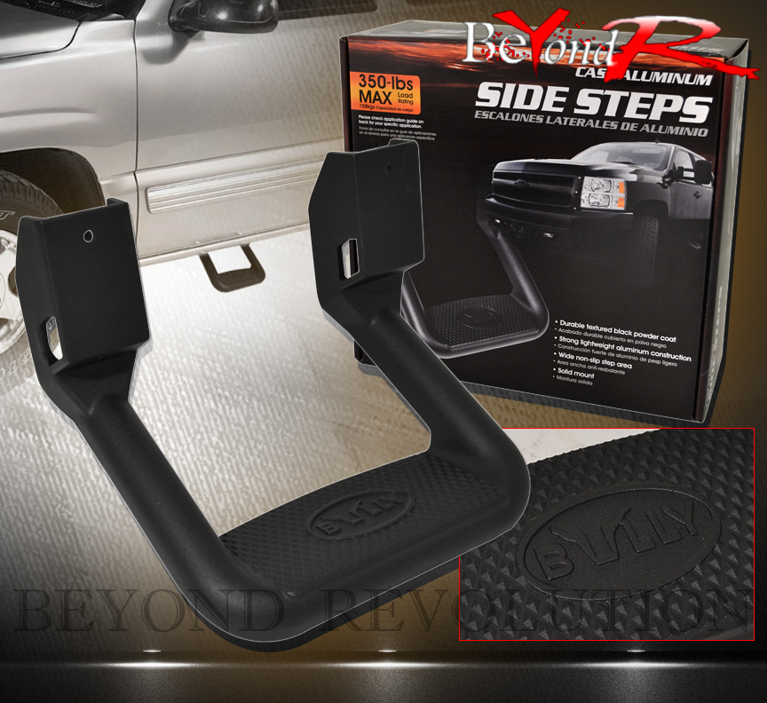 For Chevy Truck Suv Door Solid Aluminum Chassis Mount Side Step Nerf ...