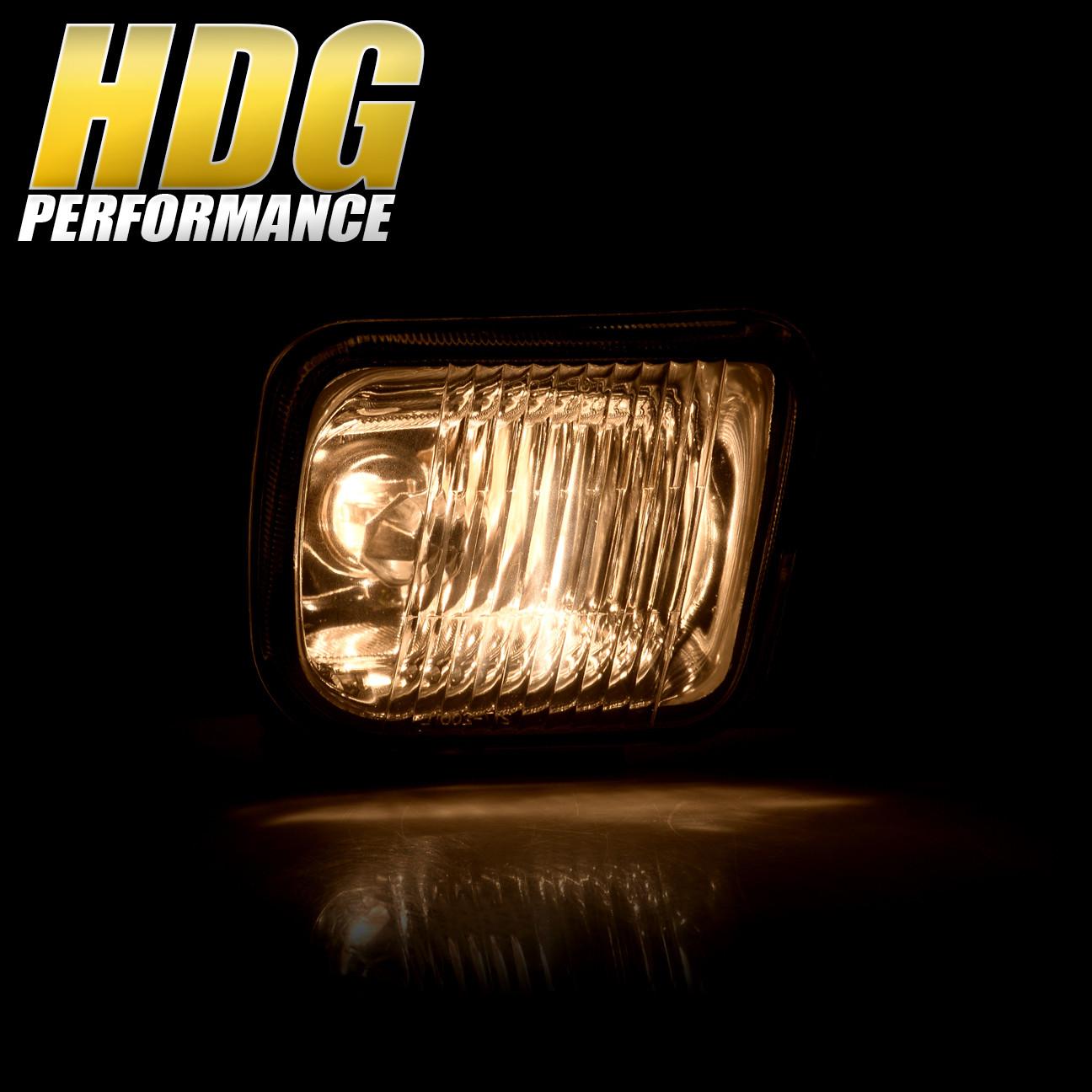 96 97 98 Civic Ex Dx Lx Ek Square Clear Bumper Driving Fog Lights + Lamp Switch   eBay
