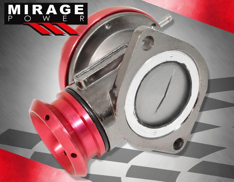 Universal Jdm Type Rz 40mm Racing Adjustable Turbo Boost Blow Off Valve Bov Red